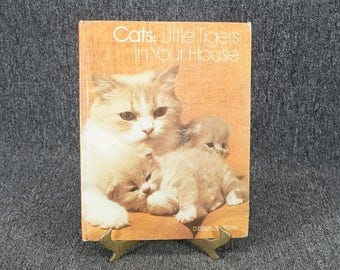 Cats Little Tigers In Your House By Linda Mccarter Bridge C. 1974
