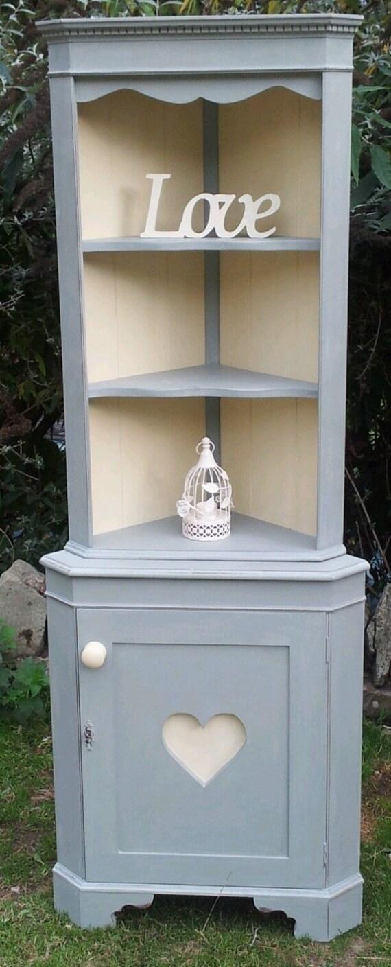 Shabby Chic Corner Cabinets