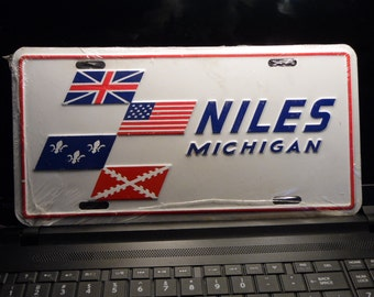1981 Niles Michigan license plate