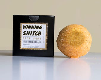 The Winning Snitch Bath Bomb- Aromatherapy (60mm)