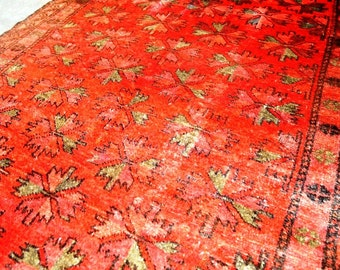 Antique Moroccan Tribal Rug