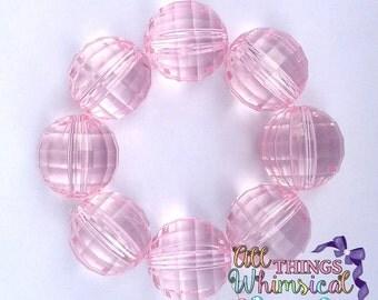 Light Pink Chunky Bubblegum Bracelet