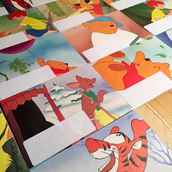 Disney Writing Set Handmade Envelopes Disney 39 S Winnie The