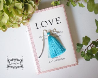 Key For Love  Silver Bookmark