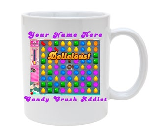 Candy crush mug