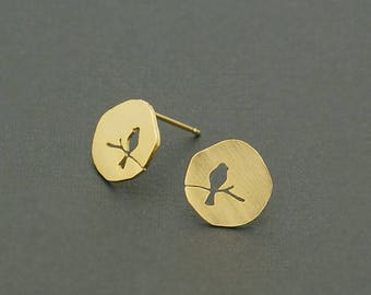 Earrings Bird Bird Bird earrings