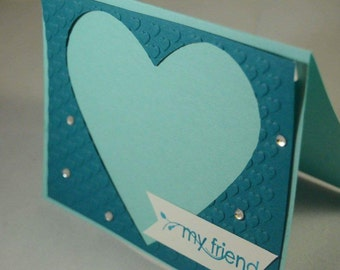 Handmade Friendship Greeting Card
