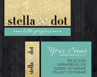 Stella & Dot - Business Cards - Choose A Pattern - PRINTED