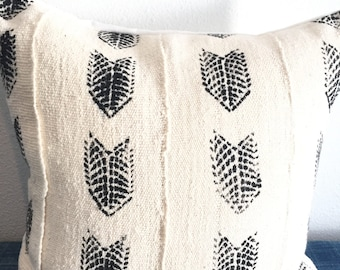 Authentic, one of a kind, mudcloth, boho, Bohemian cover
