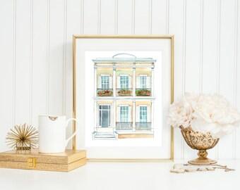 New Orleans Inspired Home Art Print