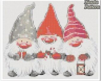 Elfs Cross Stitch Pattern, Elfs Home decor x stitch pattern, Cross stitch Embroidery, Embroidery pattern
