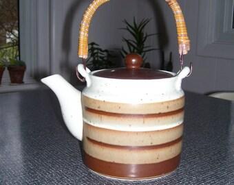 Otagiri Teapot Brown Teapot Japan 70s Vintage