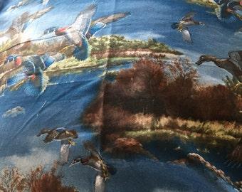 Pillowcase flying birds