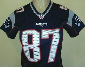 New England Patriots 100 % Swarovski Crystal Custom Blinged Out jerseys!