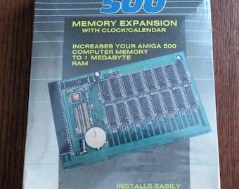 Vintage SupraRam 500 Memory Expansion for Amiga 500 Computer Sealed in Original Package