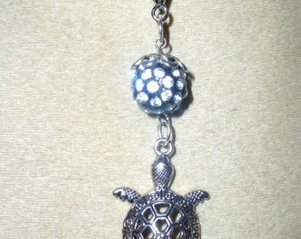 good luck turtle pendant