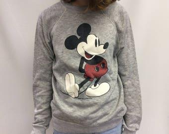 Original Vintage Walt Disney Productions Mickey Mouse Sweatshirt
