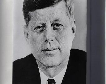Canvas 24x36; John F. Kennedy, 1961