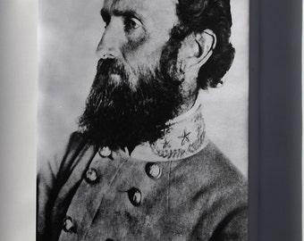 Canvas 24x36; Stonewall Jackson