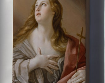 Canvas 16x24; Guido Reni The Penitent Magdalene