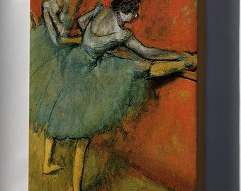 Canvas 16x24; Dancers At The Bar, 1888, The Phillips  By Edgar Degas
