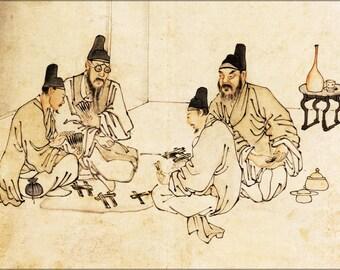 16x24 Poster; Ancient Chinese Secret Gambling