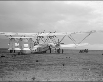 16x24 Poster; Handley Page H.P.42, A Large Biplane Airliner Of The 1930S