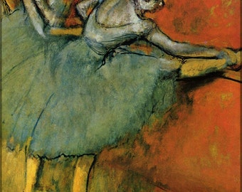 16x24 Poster; Dancers At The Bar, 1888, The Phillips  By Edgar Degas