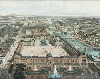 16x24 Poster; Paris France 1850
