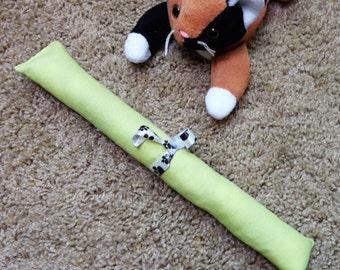 Green Cat Kicker Organic Fabric Catnip Toy PawPets