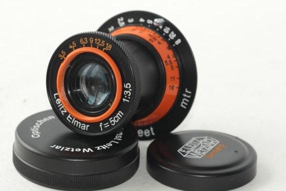 NEW Leitz Elmar 50mm/3.5 Lens for Leica M39 FED Zorki very rare model N2