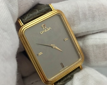 Rare watch OMEGA Men's solid gold 18kt
