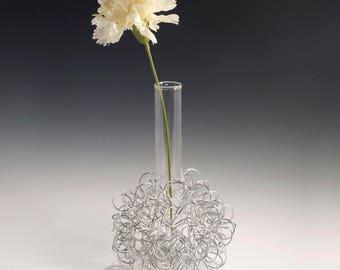 Springy Wire Bud Vase