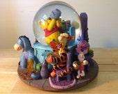 Disney Snow Globe, Music Snow Globe, Snow Globe, Snowglobe, Disney Gift Idea, Winnie Characters, Pooh, Winnie, Tigger, FREE SHIPPING!!!!