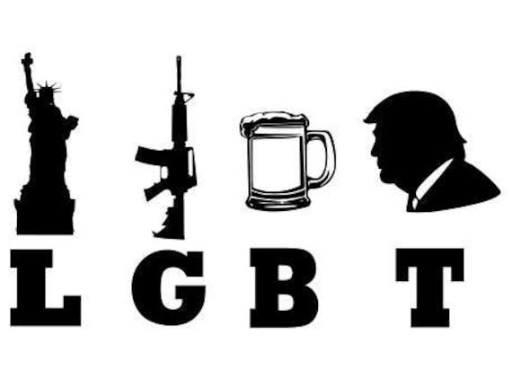 Liberty Guns Beer Trump Lgbt Svg File Quote Cut File