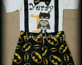 Batman baby boy outfit