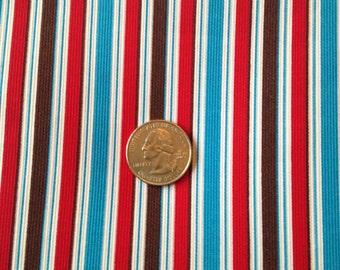 3 Yards 100% cotton striped twill fabric