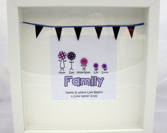 Personalised FAMILY button