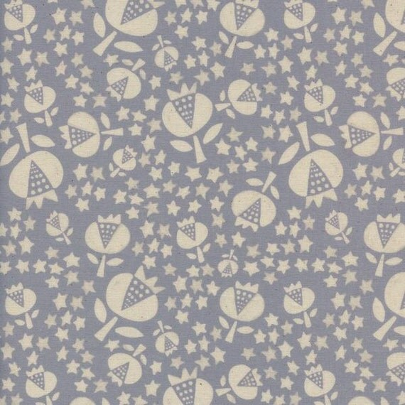 Boppy Cover - 'Flower Shop' Thistle in Grey - MADE-to-ORDER