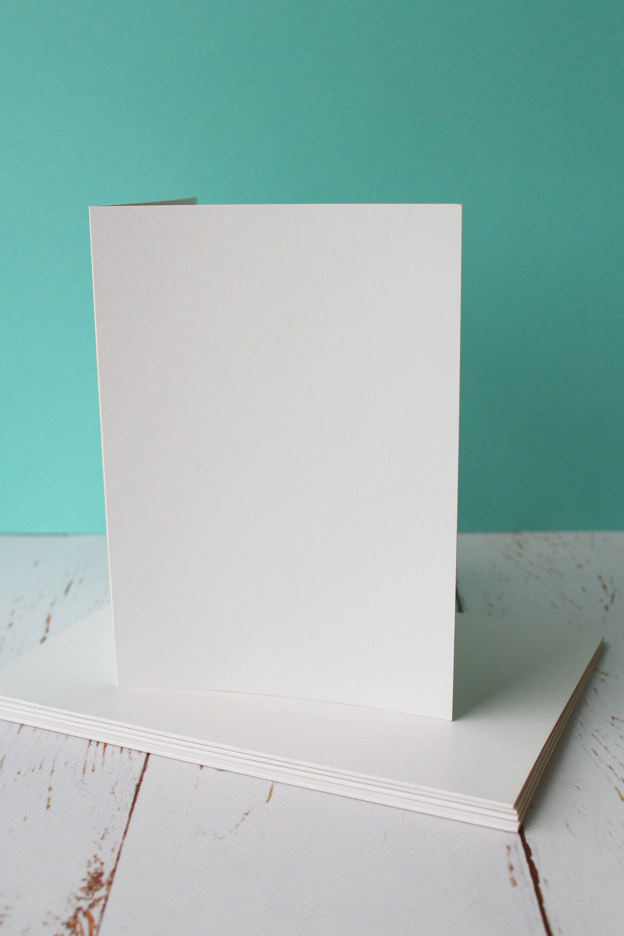 Greeting Card Blanks 5 X 7 Off White Pack Of 5 Wedding Card Blanks