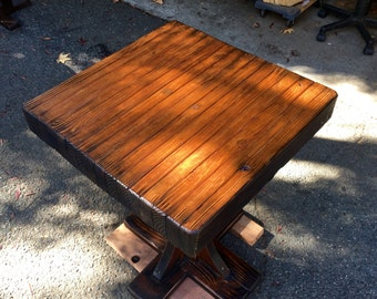 Burly Pine Dining Table