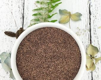 SALE!  0.5 lb Bulk CHOCOLATE Brown Biodegradable Glitter / Festival / Standard Grain / Half Pound --- CLOSEOUT!