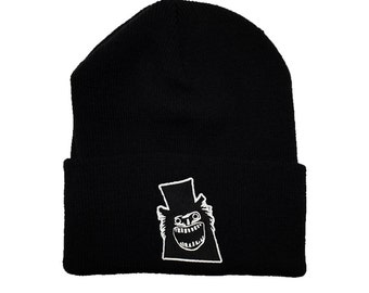 The Babadook Horror Hat Horror Beanie Babadook Hat Embroidery Horror Embroidery