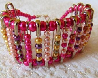 SALE - Punky Pin Bracelet