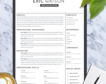 Receptionist Job Description Resume Pdf Resume Download  Etsy Hard Skills For Resume Word with Engineering Resume Tips Pdf Resume Template Cv Templatecv Designresume Designresume Templatecv Senior Business Analyst Resume Pdf
