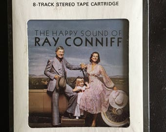 The Happy Sound of Ray Conniff 8-Track Stereo Track Cartridge - Columbia House - Never Opened NIP