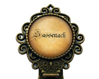 Outlander Sassenach Spelling #2 [Book/TV Spelling] Bookmark.