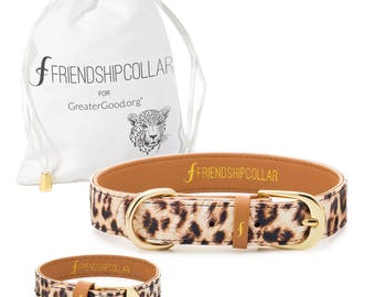 Wild & Free Friendship Collar- A collar for your dog and a matching bracelet just for you! Because best friends should match!