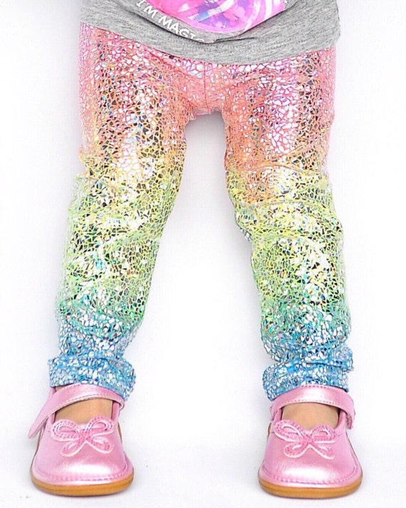 unicorn leggings baby girl leggings toddler leggings kids. Black Bedroom Furniture Sets. Home Design Ideas