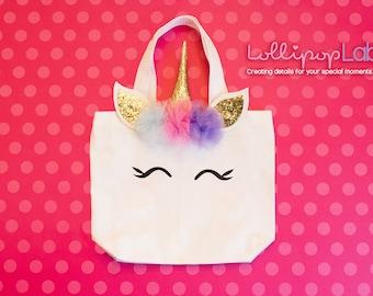 Unicorn Bag, Tote, Unicorn, Birthday gift, Unicorn birthday, Unicorn party, Gift, Unicorn, Decoration, Girl present, Magical day